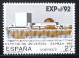 Poštovní známka Španělsko 1992 Výstava EXPO Mi# 3029