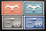 Poštovní známky OSN New York 1951 Letecké Mi# 12-15