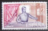 Poštovní známka Španělsko 1970 Krejčířský kongres Mi# 1879