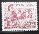 Poštovní známka Vietnam 1958 Společná pomoc Mi# 87