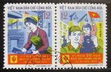 Poštovní známky Vietnam 1974 Osvobození Hanoje Mi# 776-77