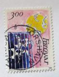Poštovní známka Faerské ostrovy 1986 Umění Mi# 136