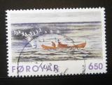 Poštovní známka Faerské ostrovy 1996 Umění, grafika Mi# 306