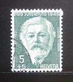 Poštovní známka Švýcarsko 1945 Ludwig Forrer Mi# 465
