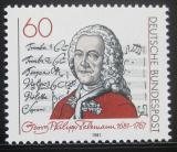 Poštovní známka Německo 1981 Georg Philipp Telemann Mi# 1085