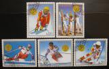 Poštovní známky Paraguay 1988 ZOH Calgary Mi# 4262-66