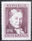 Poštovní známka Rakousko 1966 Maria Eschenbach, spisovatelka Mi# 1203