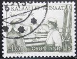 Poštovní známka Grónsko 1980 Ejnar Mikkelsen Mi# 125