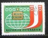 Poštovní známka Rakousko 1987 Kongres spořitelen Mi# 1898