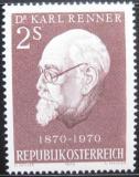 Poštovní známka Rakousko 1970 Prezident Renner Mi# 1351