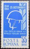 Poštovní známka Rumunsko 1964 Den armády Mi# 2343