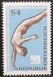 Poštovní známka Rakousko 1974 ME ve vodních sportech Mi# 1461