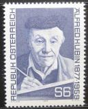 Poštovní známka Rakousko 1977 Alfred Kubin, spisovatel Mi# 1543