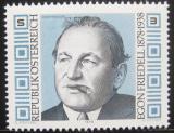 Poštovní známka Rakousko 1978 Egon Friedel, historik Mi# 1566