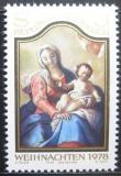 Poštovní známka Rakousko 1978 Vánoce Mi# 1591