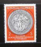Poštovní známka Rakousko 1970 Univerzitní pečeť Mi# 1326