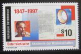 Poštovní známka Rakousko 1997 Akademie věd Mi# 2210