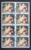Poštovní známky Paraguay 1988 Umění, Boucher, blok Mi# 4229