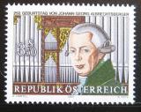 Poštovní známka Rakousko 1986 J. G. Albrechtsberger, skladatel Mi# 1839