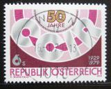 Poštovní známka Rakousko 1979 Výročí CCIR Mi# 1598