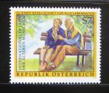 Poštovní známka Rakousko 1999 Mezinárodní rok seniorů Mi# 2293