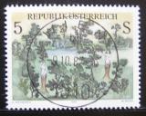 Poštovní známka Rakousko 1987 Moderní umění Mi# 1903