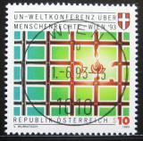 Poštovní známka Rakousko 1993 Konference lidských práv Mi# 2099