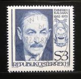 Poštovní známka Rakousko 1982 Emmerich Kalman, skladatel Mi# 1722