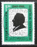 Poštovní známka Rakousko 1993 Peter Rosegger, spisovatel Mi# 2098