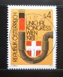 Poštovní známka Rakousko 1981 Kongres UNICHAL Mi# 1669