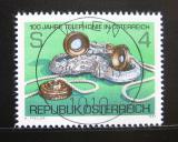 Poštovní známka Rakousko 1981 Telefonní služba Mi# 1672