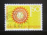 Poštovní známka Lichtenštejnsko 1966 Ochrana přírody Mi# 463