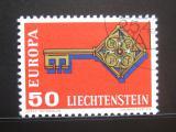 Poštovní známka Lichtenštejnsko 1968 Evropa CEPT Mi# 495