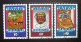 Poštovní známky Lichtenštejnsko 1993 Tibetské umění Mi# 1061-63