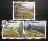 Poštovní známky Lichtenštejnsko 1993 Umění Mi# 1056-58