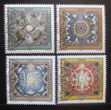 Poštovní známky Lichtenštejnsko 1994 Čtyři elementy Mi# 1099-1102