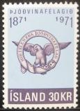 Poštovní známka Island 1971 Společnost patriotů Mi# 455