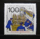 Poštovní známka Německo 1990 Pošta Mi# 1476