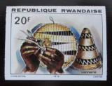 Poštovní známka Rwanda 1979 Pletení košů neperf. Mi# 1006 B