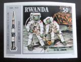 Poštovní známka Rwanda 1980 Průzkum Měsíce neperf. Mi# 1031 B