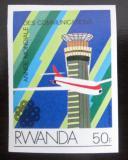 Poštovní známka Rwanda 1984 Komunikace neperf. Mi# 1264 B Kat 9€