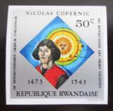 Poštovní známka Rwanda 1973 Mikuláš Kopernik neperf. Mi# 614 B