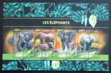 Poštovní známky Džibutsko 2016 Sloni Mi# 1289-92 Kat 10€