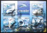 Poštovní známky Guinea-Bissau 2013 Žraloci Mi# 6748-52 Kat 13€