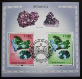 Poštovní známky Guinea-Bissau 2010 Minerály Mi# Block 862 Kat 12€