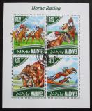 Poštovní známky Maledivy 2014 Dostihy Mi# 5279-82 Kat 11€