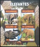 Poštovní známky Mosambik 2016 Sloni Mi# 8149-52 Kat 15€