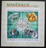 Poštovní známky Niger 2013 Minerály Mi# 2257-60 Kat 13€