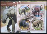 Poštovní známky Sierra Leone 2016 Sloni Mi# 6878-81 Kat 11€