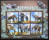 Poštovní známky Sierra Leone 2015 Sloni Mi# 6034-39 Kat 12€